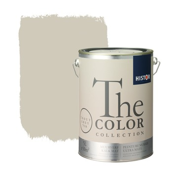 Histor The Color Collection muurverf trout grey 5 liter