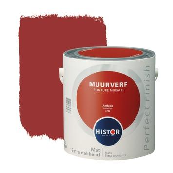 Histor Perfect Finish muurverf ambitie mat 2,5 L