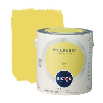 Histor Perfect Finish peinture murale pomme mat 2,5 litres