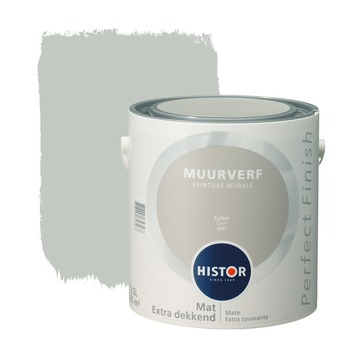 Histor Perfect Finish peinture murale cyber mat 2,5 litres