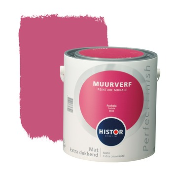 Histor Perfect Finish muurverf fuchsia mat 2,5 liter