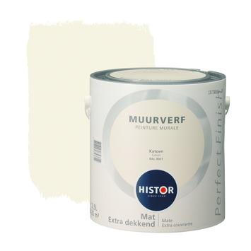 Histor Perfect Finish peinture murale coton mat 2,5 litres