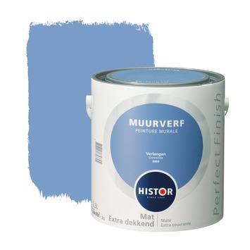 Histor Perfect Finish muurverf verlangen mat 2,5 liter