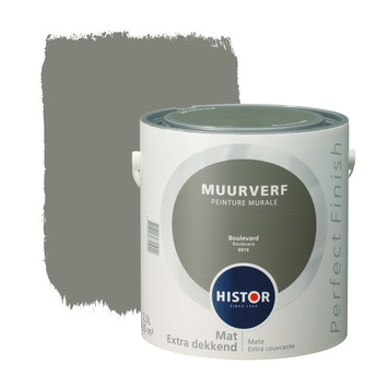 Histor Perfect Finish peinture murale boulevard mat 2,5 litres