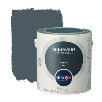 Histor Perfect Finish peinture murale critère mat 2,5 litres