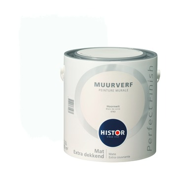 Histor Perfect Finish muurverf hoornwit mat 2,5 liter