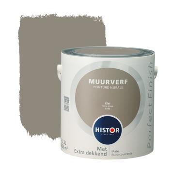 Histor Perfect Finish peinture murale argile mat 2,5 litres