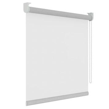GAMMA rolgordijn effen lichtdoorlatend 1233 wit 180x250 cm