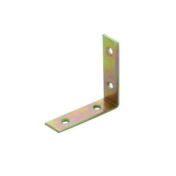 Équerre d'angle 25x14 mm bichromate 4 pièces