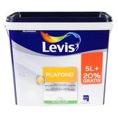 Peinture Levis Plafond 5+1 L 0001 blanc