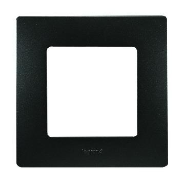 Plaque de finition simple Niloé Legrand anthracite