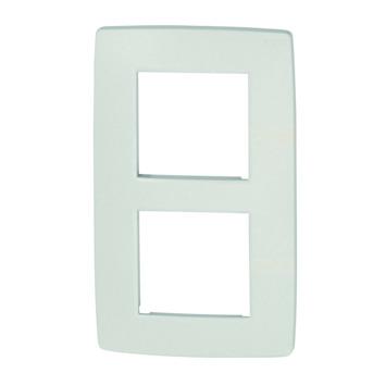 Plaque de finition double verticale Niko Original white