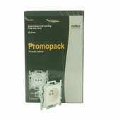 Niko stopcontact 2-polig met aarding 28,5 mm wit 10 stuks
