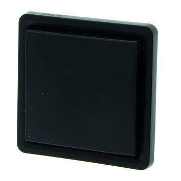 Interrupteur bipolaire étanche Hydro 55+ Niko montage apparent noir