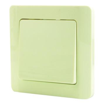 Interrupteur va-et-vient avec plaque de finition OK crème 4 pièces