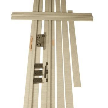 Deurkassement Senza horizontaal sandy D02 dikte 15 mm, hoogte 201,5 cm en breedte 16,5 cm