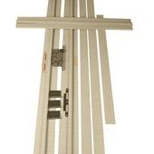 Huisserie Senza horizontal D02 15 mm 201,5x16,5 cm Sandy