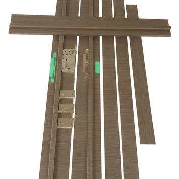 Solid deurkassement Senza Classico hydrofuge eik antraciet horizontaal 201,5x30x1,8 cm