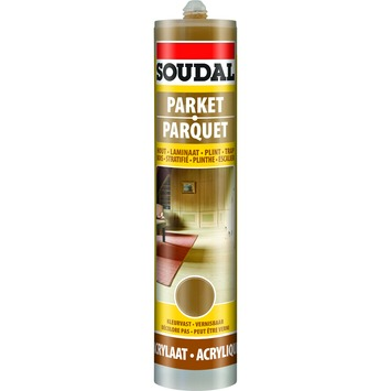 Soudal parketkit mokka 300 ml