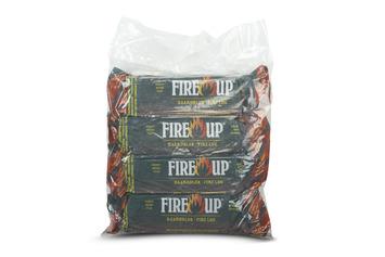 Fire-Up paraffine haardblokken 1 kg zak met 4 stuks