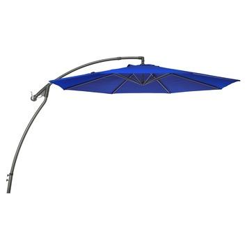 Parasol excentre Mexique bleu