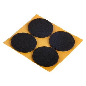 GAMMA meubelglijder zelfklevend rond 35 mm bruin 4 stuks