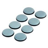 Meubelglijders zelfklevend PTFE rond 25 mm 10 stuks