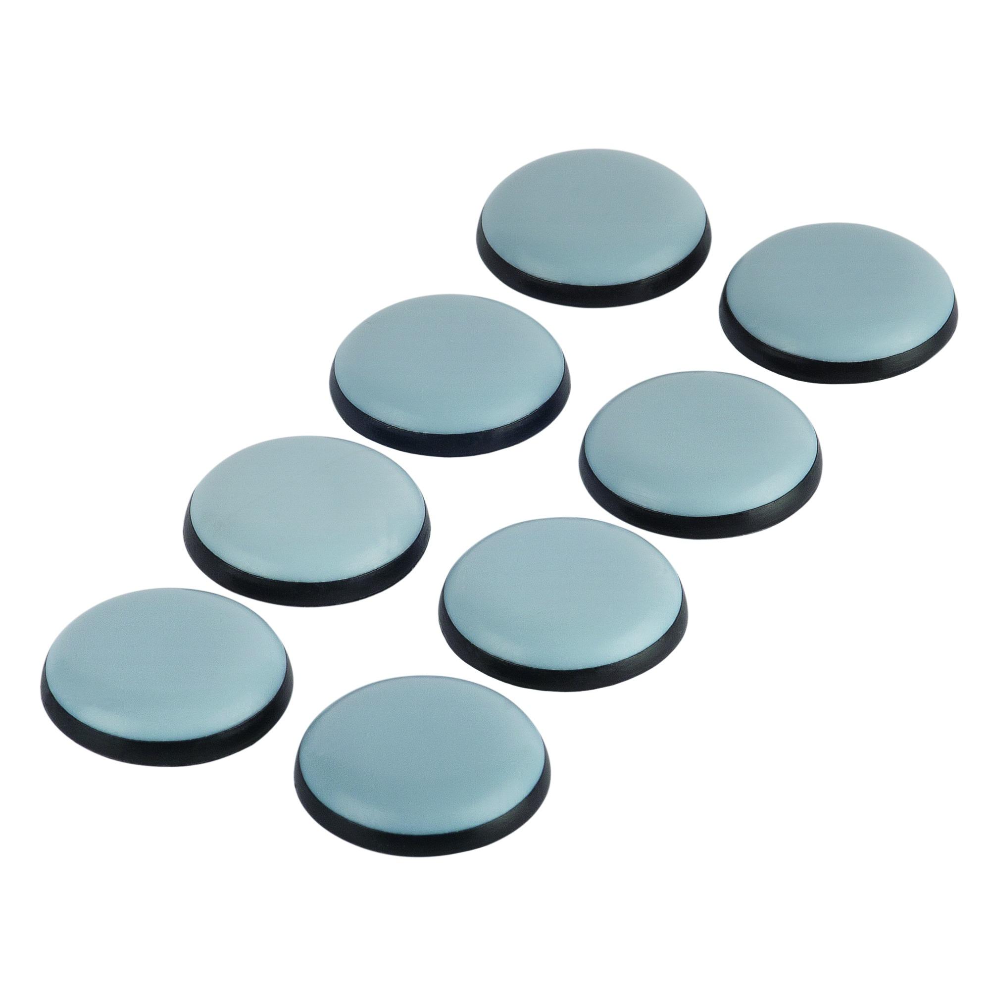 patin de meuble ptfe adh sif 25 mm 10 pi ces feutre patins avec vis quincaillerie. Black Bedroom Furniture Sets. Home Design Ideas