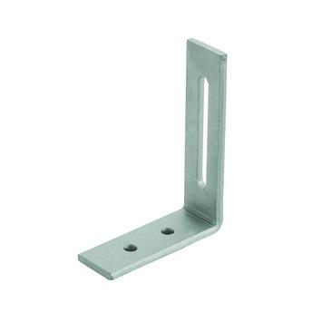 Hoekanker verstelbaar 80x60x20 mm Magnodur staal