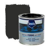 Laque pour métaux Ferro Levis mat noir 250 ml