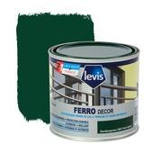 Primer et laque pour métaux Ferro Décor Levis brillant vert foncé 500 ml
