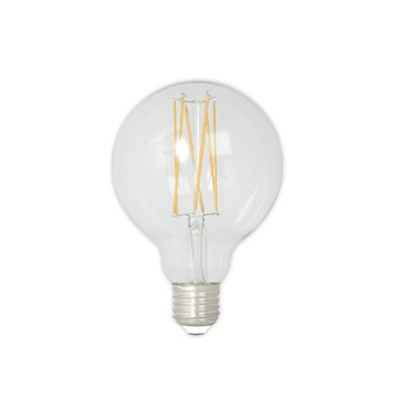 Calex LED filament globe 9,5 cm E27 4 W 350 Lm dimbaar