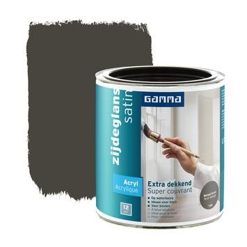 GAMMA lak extra dekkend zijdeglans wenge 750 ml