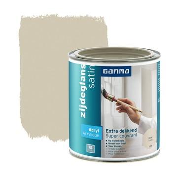 GAMMA lak extra dekkend zijdeglans forel 750 ml