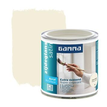 GAMMA lak extra dekkend zijdeglans zandbeige 250 ml