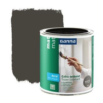 GAMMA lak extra dekkend mat wenge 750 ml