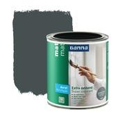 GAMMA lak extra dekkend mat antraciet 750 ml