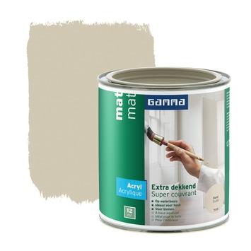 GAMMA Extra Dekkend acryllak mat forel 750 ml