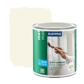 GAMMA lak extra dekkend mat RAL9001 750 ml