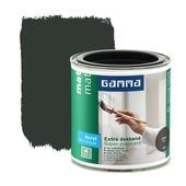 GAMMA lak extra dekkend mat zwart 250 ml