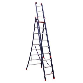 Reform ladder Sirius 3x9 treden aluminium