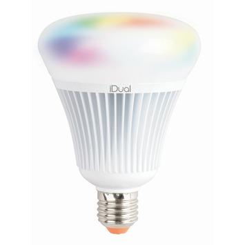 iDual LED lamp E27 16W = 75W 1055 lumen incl. afstandsbedieing