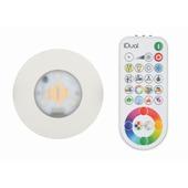 Spot à encastrer Performa iDual LED intégrée 7W 345 Lm blanc avec télécommande