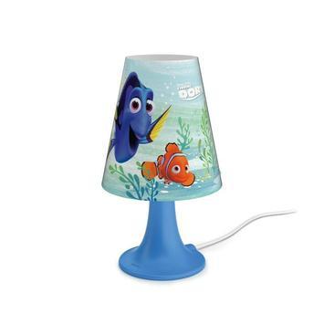 Philips Disney tafellamp Finding Dory met geïntegreerde LED 2,3 W blauw