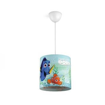 Suspension Finding Dory Disney Philips E27 max. 23 W bleu