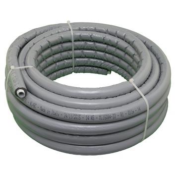 Conduite multicouche isolé Levica Superpipe ø16-2,0 mm 15 m gris