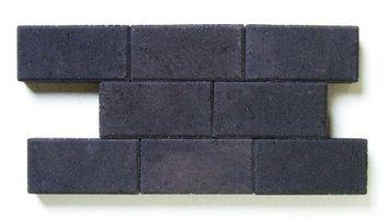 Klinker Beton Zwart 22x11x10 cm - 264 Klinkers / 6,34 m2