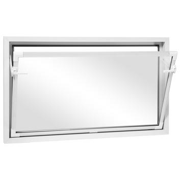 Fenêtre tombante en PVC 50x60 cm blanc