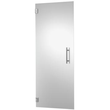 Porte intérieure en verre trempé CanDo mat 201,5x88 cm