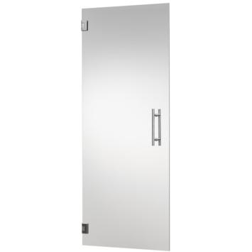 CanDo binnendeur hardglas blank 201,5x78 cm